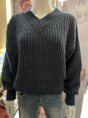 Yana V-neck Knit  logo