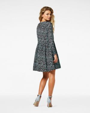 KATIE Mini Dress Grey Blue