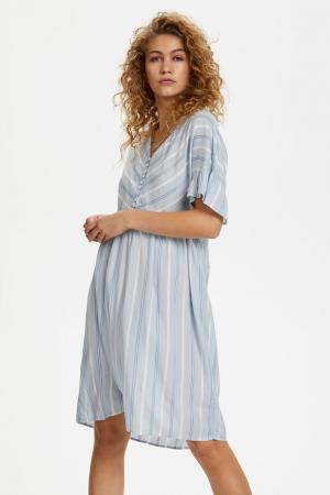 Siggen Stripe Dress logo