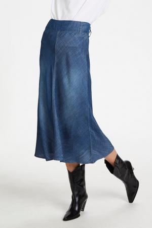 Maria Skirt Medium Blue Was
