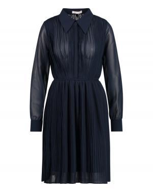 Caily Dress Dark Blue