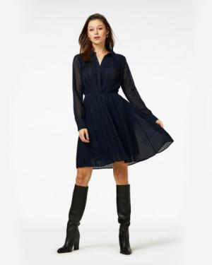 Caily Dress Dark Blue