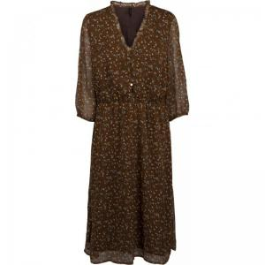 Rebecca Dress Friar Brown