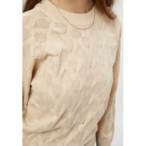 Lia Paloma Raglan Pullover Sandshell