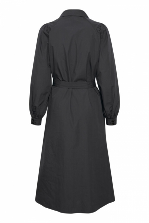 Karen Dress Charcoal Gray